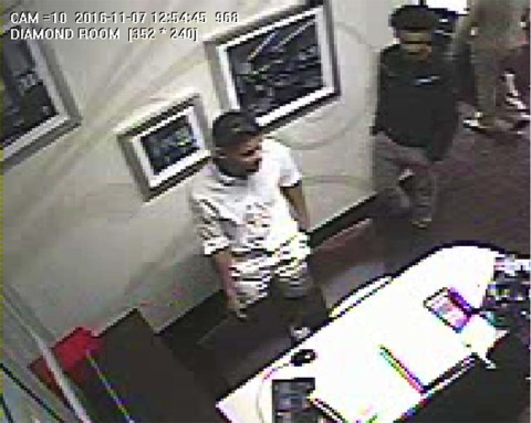 Police searching for robbery suspects