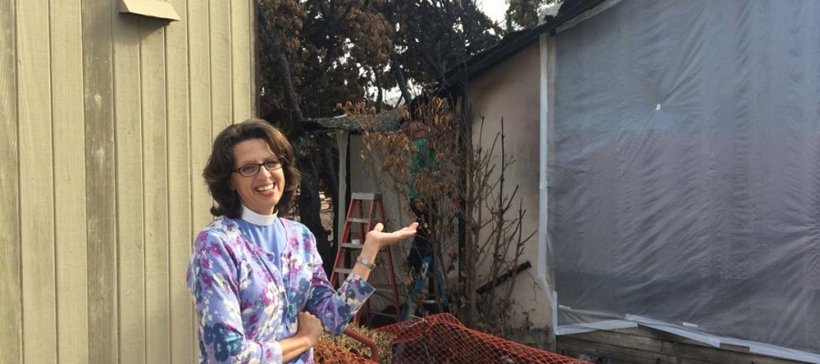 Fires have church, community on edge