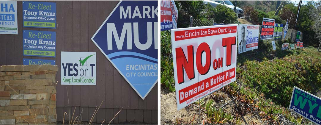 Encinitas voters to weigh in on Measure T