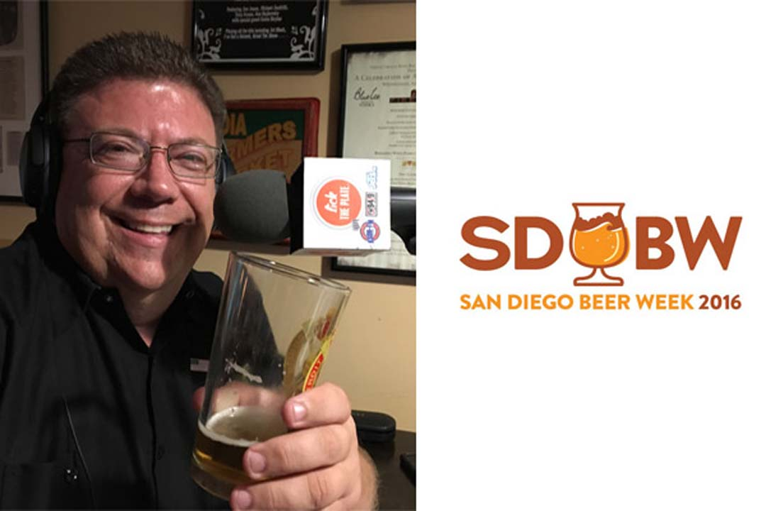 Lick the Plate: Talking San Diego Beer Week with Kevin Hopkins from Mother Earth Brewing