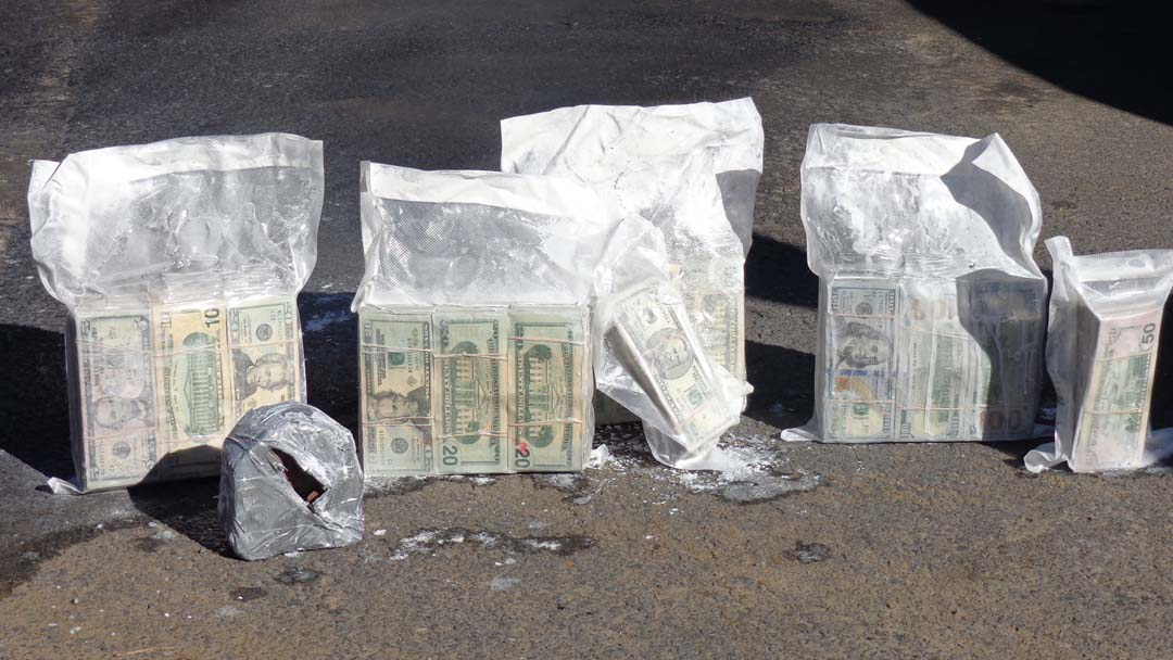 Border Patrol arrests man, seizes $290,000 in cash