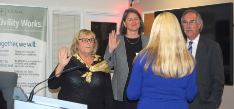 Outgoing councilmen honored, new members sworn in