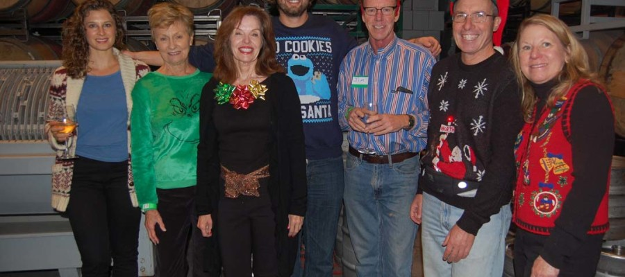 Del Sol Lions Club dons their best ugly sweaters for a good cause
