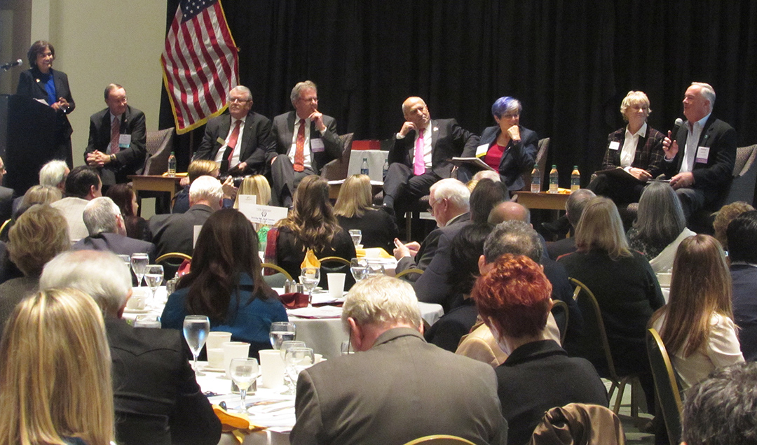 Economic status of North County highlighted in summit