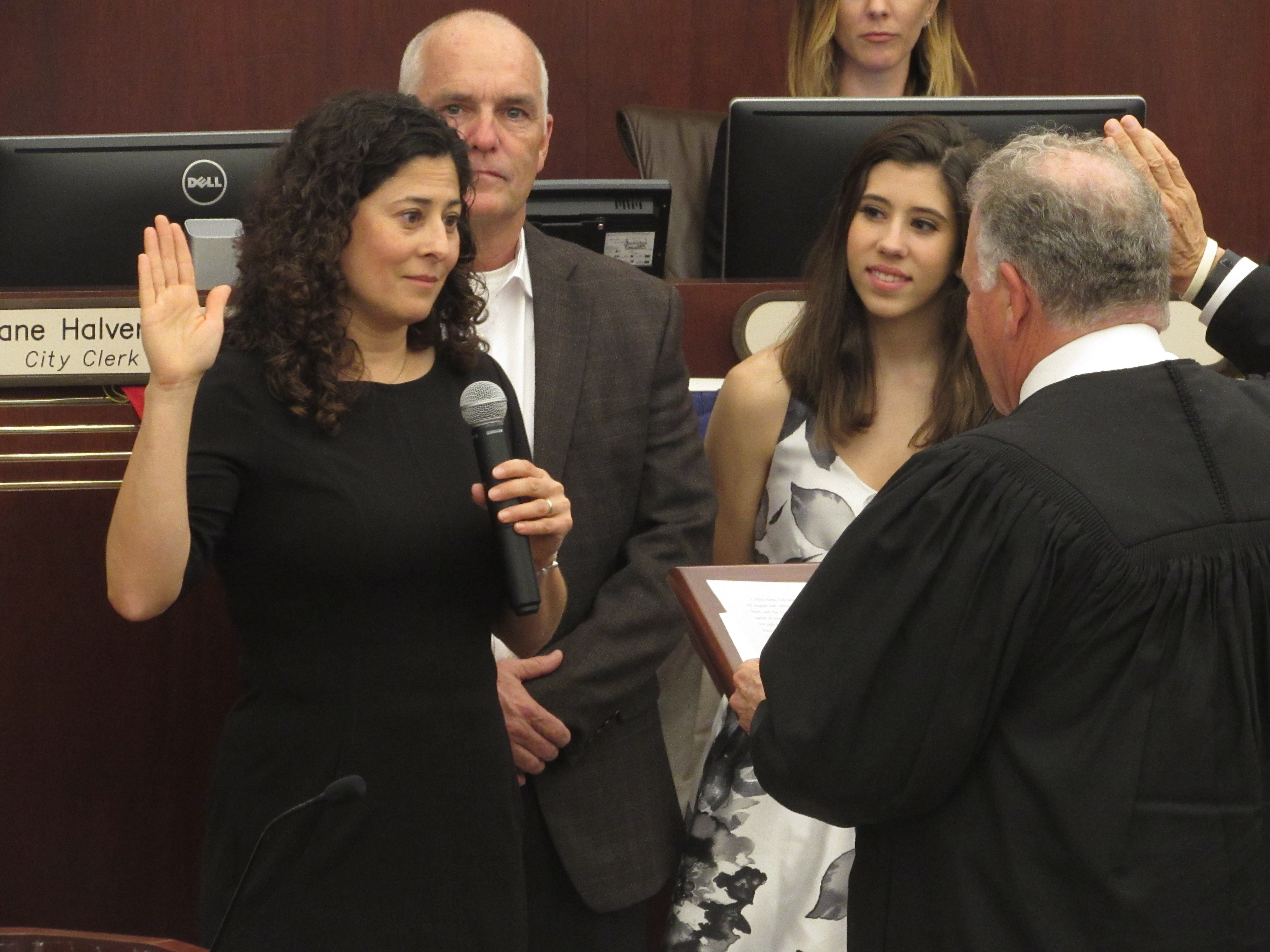 Diaz, Morasco, Shultz take seats as elected officials