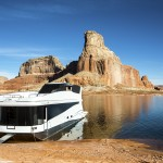 Get away from the holiday hustle and bustle by renting a houseboat on Lake Powell, on the border of Utah and Arizona. Special deals through Dec 31.