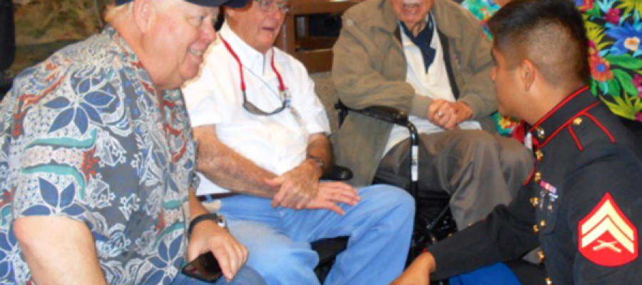 Local WWII vets travel to 75th anniversary of Pearl Harbor attack