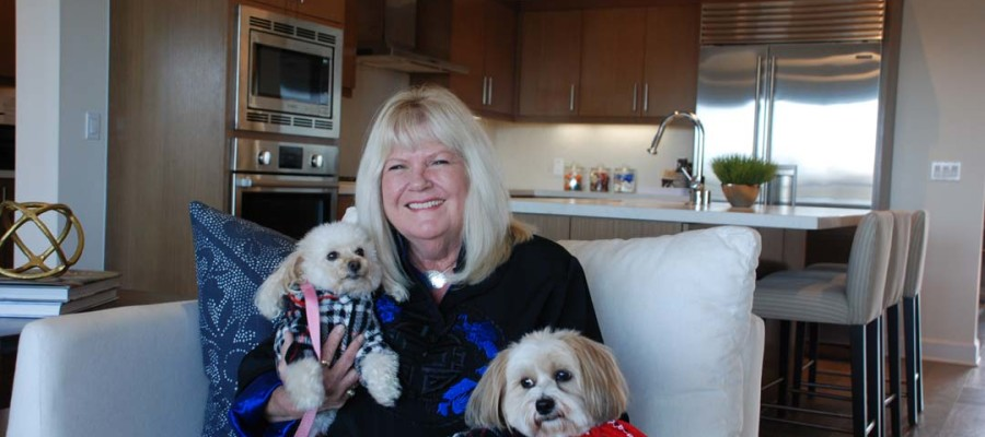 Marketplace News: Life's a beach for SummerHouse Carlsbad resident Sherry Radcliffe