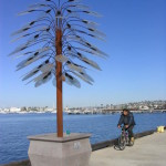 This Urban Tree is one of 210 sculptures that ran the length of Harbor Drive during the seven years the works of art were displayed. Each sculpture was for sale with price tags that ran from a few hundred dollars to thousands.
