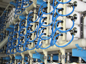 San Diego County receives 10 percent of its water supply from the Carlsbad Desalination Plant. Carlsbad receives between seven and 10 percent from the overall supply to the county from the plant as drought protection and less reliance on imported water. Photo by Steve Puterski