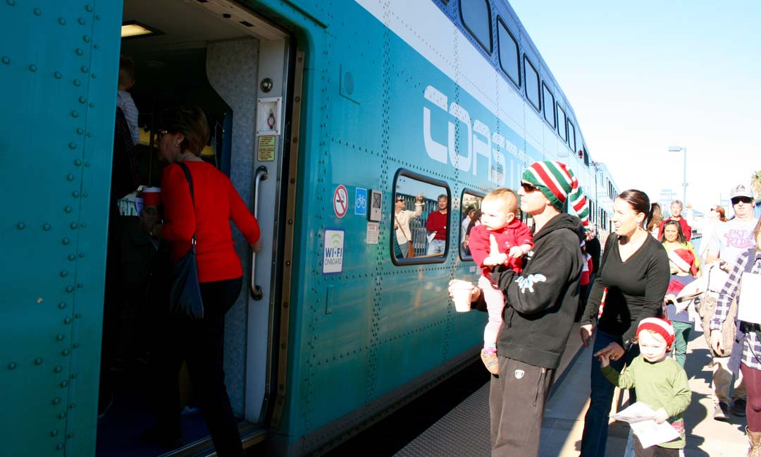 The Coaster Holiday Express readies for another trek
