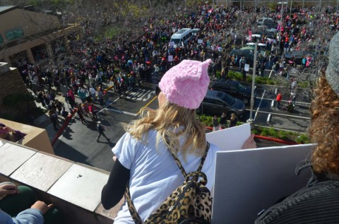Worry brings marchers out in North County