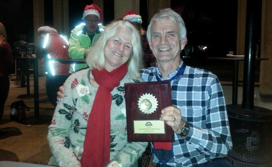 Solana Beach resident, bike advocate honored for volunteerism