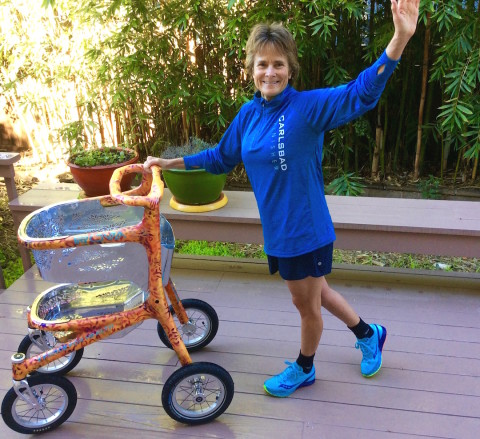 Carlsbad woman goes the distance in marathon