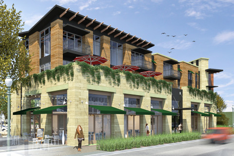 Village Lofts project makes it through commission