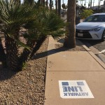 Following these logos on the Scottsdale sidewalks will take you many of the city's public works of art.