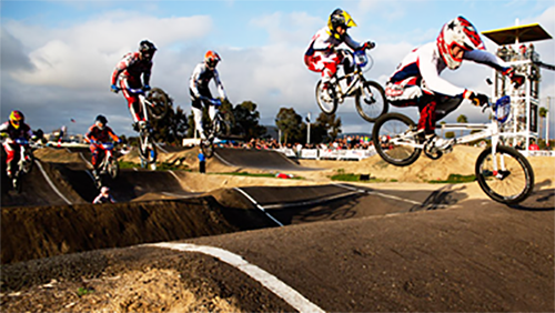 The Escondido City Council and city staff are researching possible locations and details for a BMX track to provide more activities for the city's youth. Courtesy photo