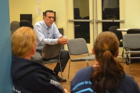 Issa meets with Solutions for Change residents