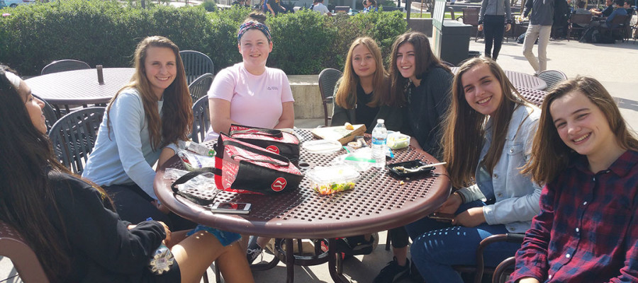 Exchange students get a taste of life in the U.S., local school