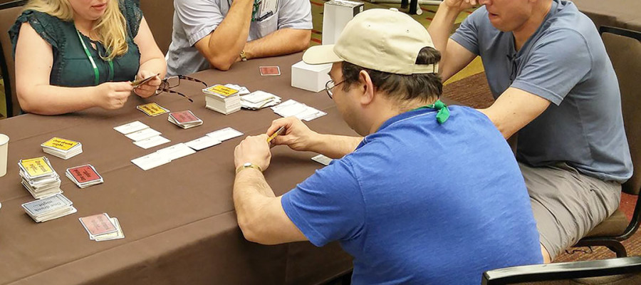 Game makers hoping for the right cards to be dealt