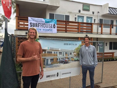 Brothers' surf motel dream nears realization