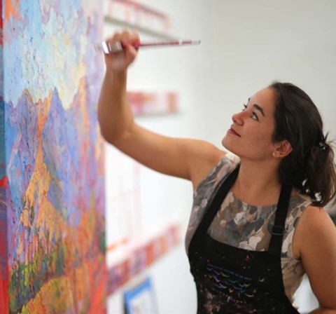 Marketplace News: Gallery brings vivid landscape oils to North County