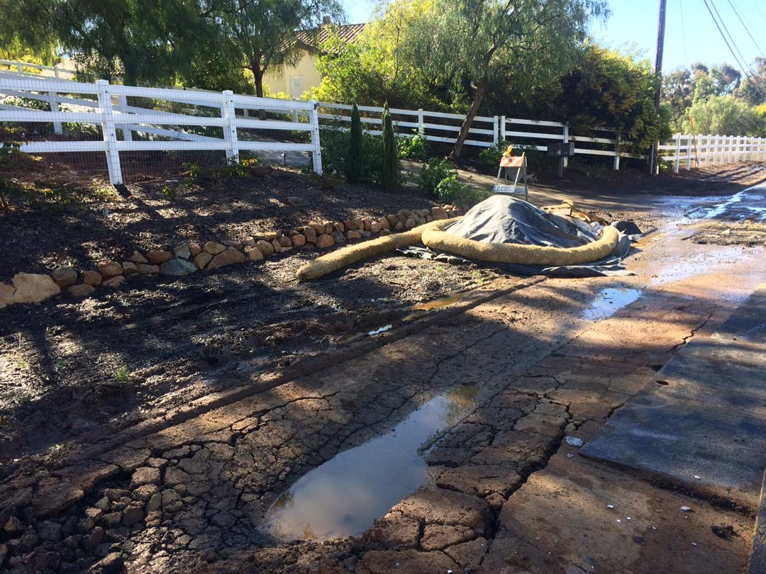 'Pavement failure' in Olivenhain closes Lone Jack Road