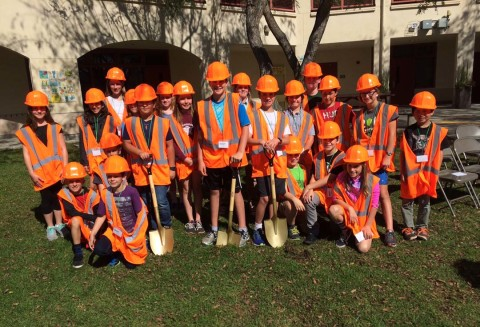 EUSD celebrates groundbreaking of stormwater project