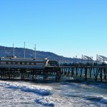 "Fans of ""The O.C."" will recognize the horseshoe-shaped Redondo Beach Municipal Pier, featured frequently in the series. Much of the pier was replaced after a spectacular fire in 1988. A sure thing: lunch or dinner at Kincaid's Bay House on the pier. Good food; great ocean views. (Photo by Jerry Ondash)"