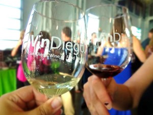 The 5th annual Vin Diego Wine & Food Festival rocks the wine world Saturday April 8 at Liberty Station in San Diego. Photo courtesy Vin Diego