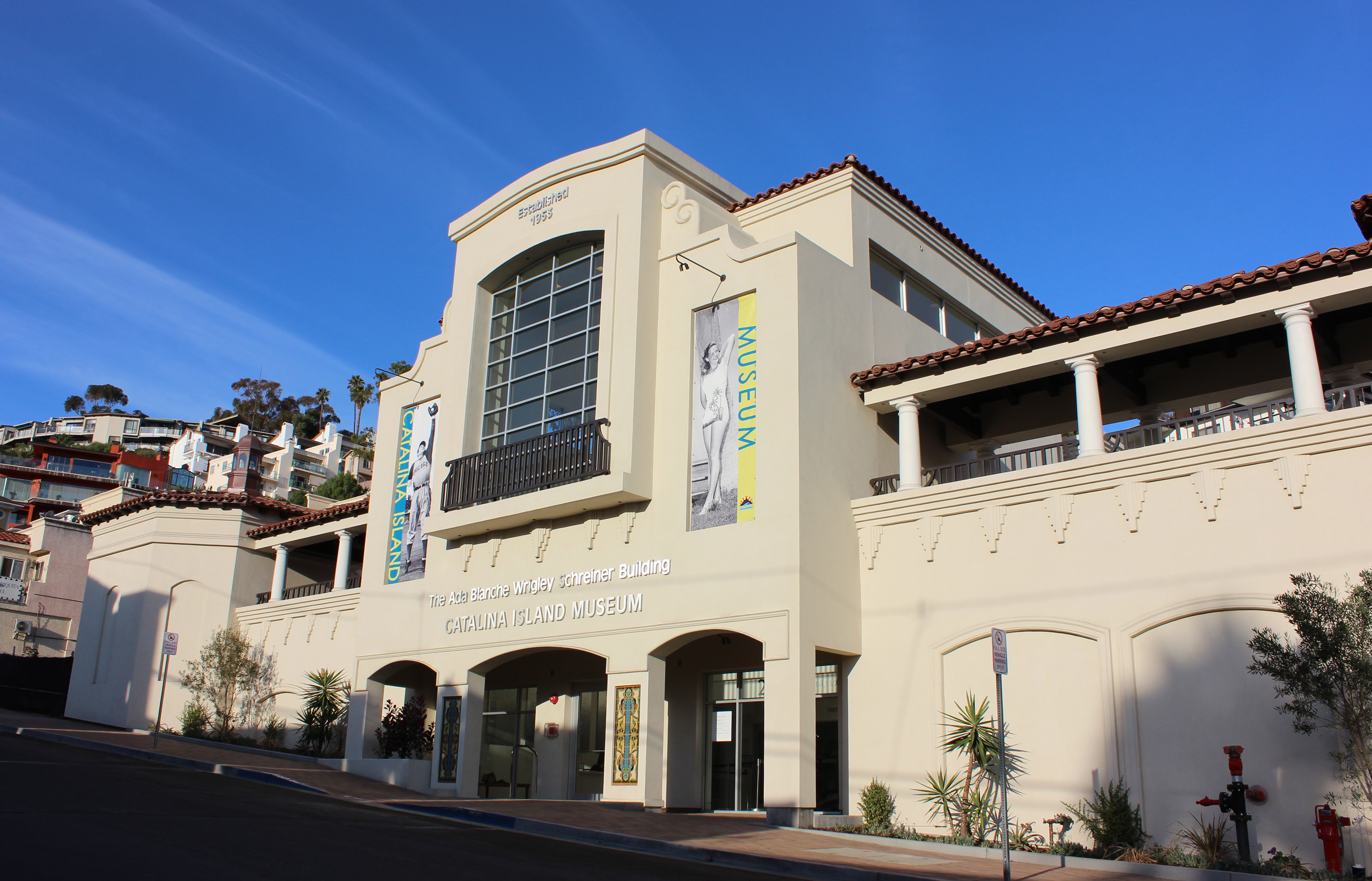 The new Ada Blanche Wrigley Schreiner Building of the Catalina Island Museum is a nod to both the Spanish Mission style and Art Deco. With open space on the island at a premium, the museum was lucky to score the former location of Avalon's city hall. Courtesy photo