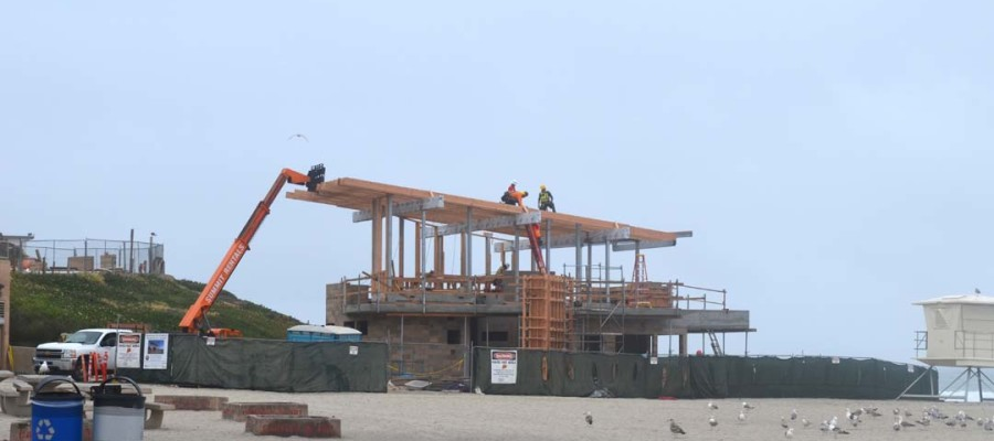 Lifeguard tower's grand opening delayed until late summer