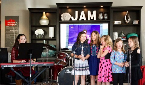 Young musicians now have a stage of their own