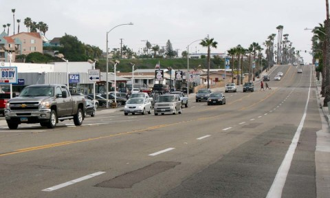 Radar feedback signs approved, rapid flashing beacon crosswalk on Coast Highway postponed