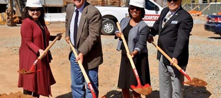 Palomar breaks ground in new parking structure