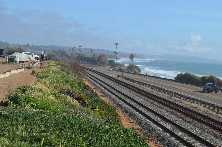The San Diego County Board of Supervisors chambers at 1600 Pacific Hwy., will be the site for the May 11 meeting to decide on the placement of a controversial segment of the Coastal Rail Trail in Encinitas. File photo