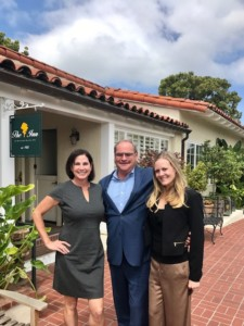 Community Partners Chair Lea Park, Inn at RSF General Manager Jerome Strack, Inn at RSF Marketing Manager Morgan Howitt. Courtesy photo