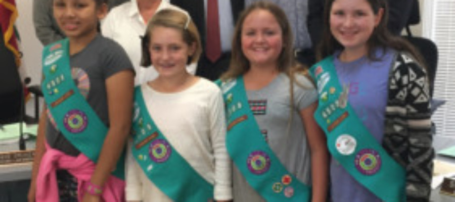 Council honors Girl Scout Troop 4503