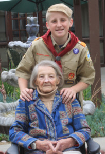 Rancho Santa Fe Boy Scout Jacob Reinhart was thinking of his great-grandmother, Wilma Brummett, a resident at Aviara Healthcare Center in Encinitas, when he created his Eagle Scout project, gathering games and activities for seniors at the facility. Reinhart is asking the community to on May 26 donate items at the R. Roger Rowe School, 5927 La Granada, Rancho Santa Fe.
