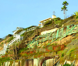 The state Supreme Court will decide the fate of the case on an Encinitas seawall in May. File photo