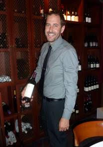 J.T. Hutchens, Pacifica's wine director.