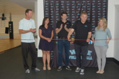 WAVE volleyball celebrates expanded facility