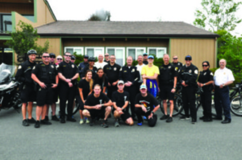Officers ready for Special Olympics Torch Run through county