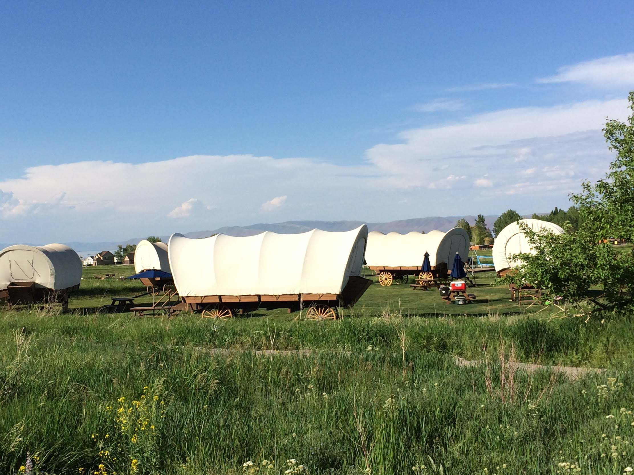 Hit the Road: Luxury accommodations replace tents at Utah 'glampground'