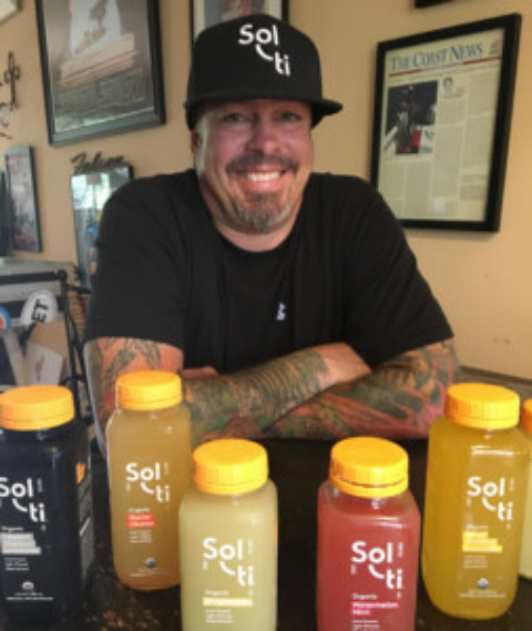 Lick the Plate: Introducing Solti, the first cold-crafted, light-filtered, glass-bottled beverage!