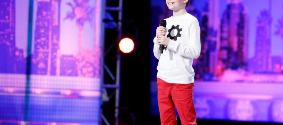 Merrick Hanna wows on 'America's Got Talent'