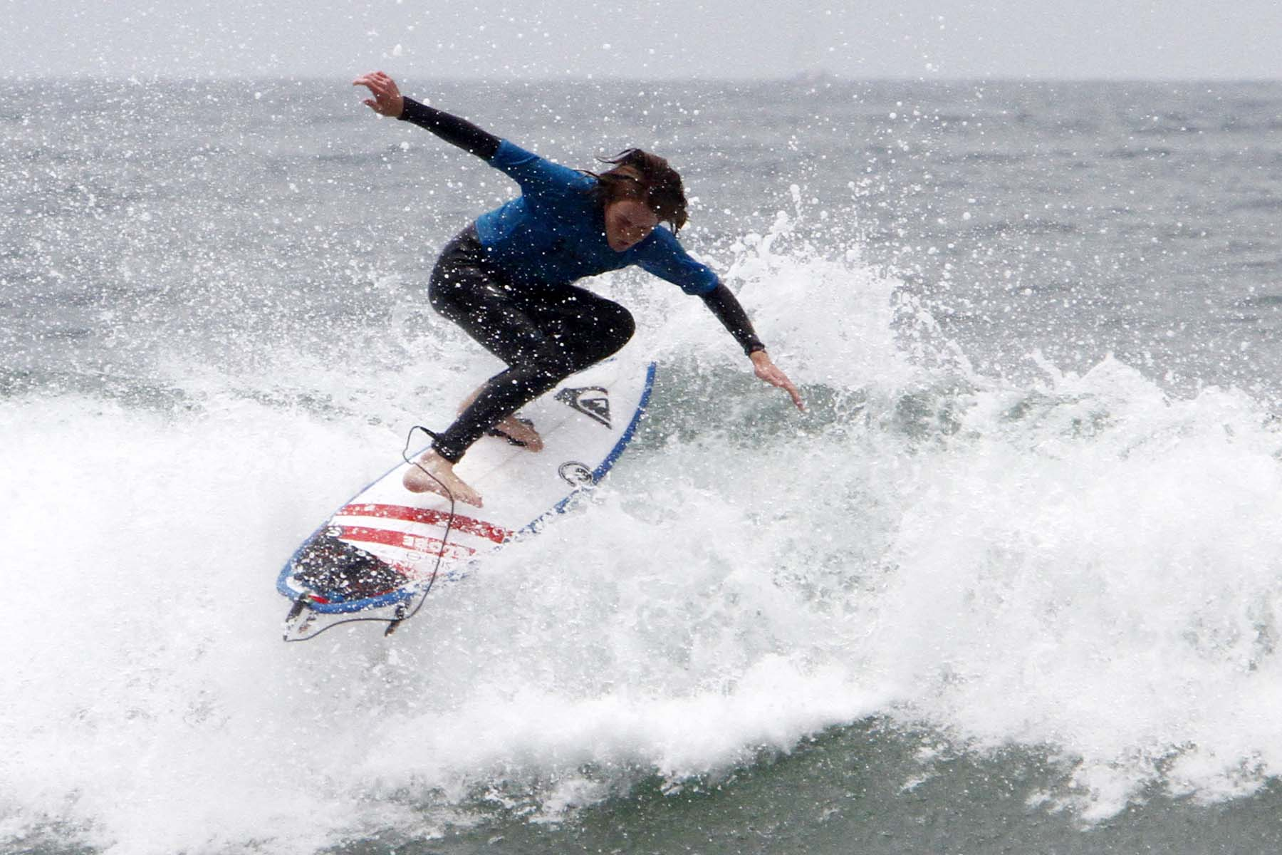 The 13th annual Switchfoot Bro-Am at Moonlight Beach kicked off with surf contests. Photo by Pat Cubel