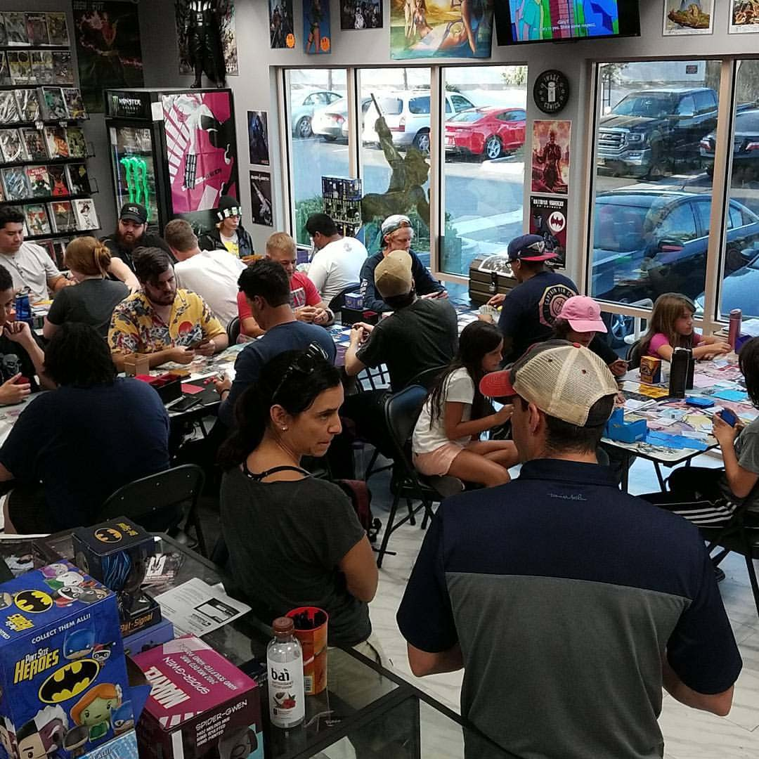 Comic book store owners build community with gaming tournaments