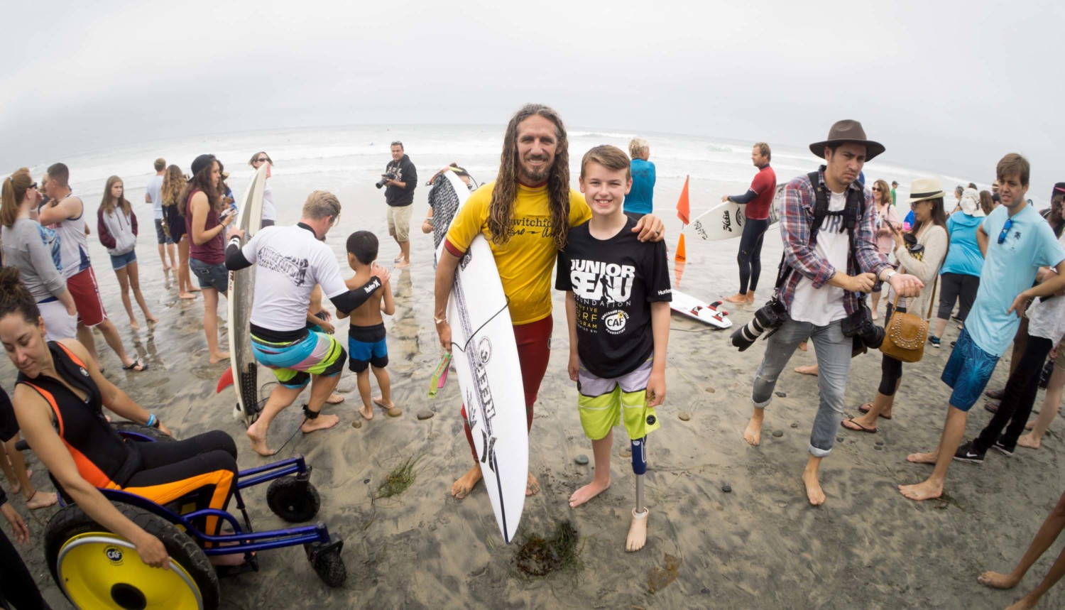 Sports Talk: Time was right for adaptive surfing debut at Switchfoot event