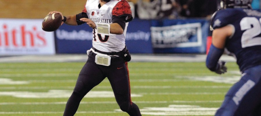 San Diego State's Long expects strong year from QB Chapman